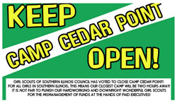 Save Cedar Point Camp